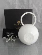 Rosenthal Versace La Medusa White Sugar Bowl 0,32 L. NEW & OVP