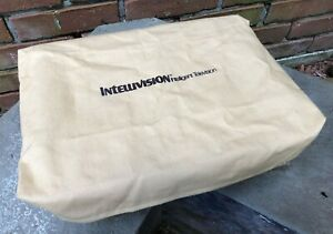 VINTAGE TAN CLOTH INTELLIVISION FACTORY OEM DUST COVER - FREE SHIPPING -