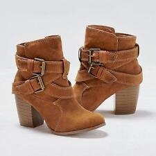 Women Mid Heel Short Ankle Boots Winter Martin Snow Botas Warm Heels Boot Shoes