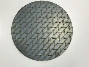 Schachtabdeckung rund Stahl Blech Riffelblech Alu Warzenblech Ronden Wunschmaß