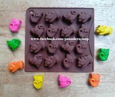 Pet Cat Kitty Silicon Crayon Chocolate Fondant Clay Jelly Mold Molder
