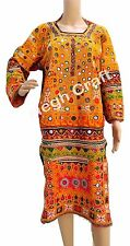 Afghani kuchi vintage tunic-indian kuchi Banjara Gypsy Bohemian dressMegh Craft