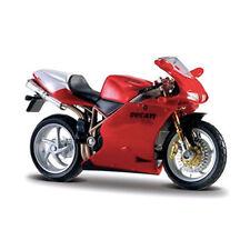 BBURAGO 51030 Ducati 998R rouge échelle 1:18 modèle de moto neuf !°