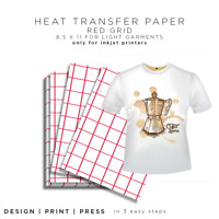 Sewing SNSJ3 Hewlett Packard 20 Transfer Sheets New in Package 2 Packages HP Iron-On T-Shirt Transfers