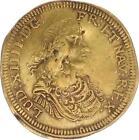 A4640 RARE Jeton Louis XIV Nuremberg Ecu France Couronné - Faire Offre