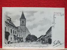 AK - Strengberg - gel. 1904 - Bez. Amstetten - Mostviertel - viele Personen !