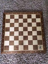 Wooden Tournament House of Staunton Chess Board L@@K!