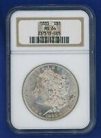 1883 P NGC MS64 Morgan Silver Dollar $1 Better Date 1883-P NGC MS-64 Super PQ!
