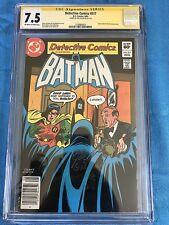 Detective Comics #517 - DC - CGC SS 7.5 - Signed by Joe Giella - Batman