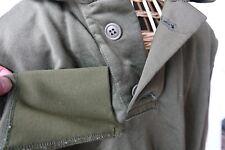 Vietnam-era SMALL Sleeping Shirt Tricot Knit pullover 2 button US Army nylon