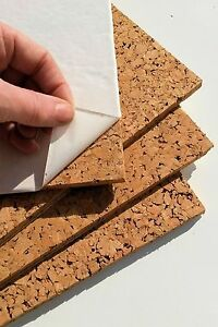 Quickfix 30x30cm Cork Pin-Board Tiles Pk4 NICOLINE