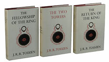 The Lord Of The Rings Trilogy ~ JRR TOLKIEN ~ First Edition Set 11,9,8 1st ALLEN