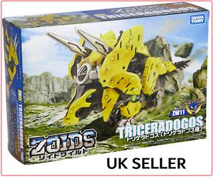 *UK Seller** Zoids TRICERADOGOS (ZW11) - Official Takara Tomy - Toy Figure BOXED