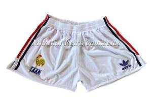 Platini Zidane Francia France Short pantaloncini home (retro)