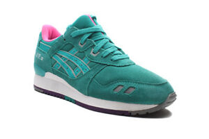Men's Asics Gel-Lyte III H511L 7878 Tropical Green Shoes
