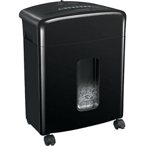 Bonsaii C220-A Portable 12 Sheet Cross Cut Paper, Card, and Disc Shredder Bin