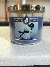 Goose Creek Welcome Frosty 2 Wick Candle