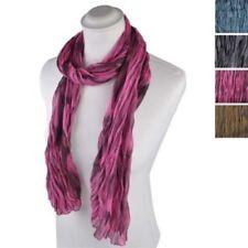 Sciarpe, foulard e scialli da donna collo tinta unita in poliestere