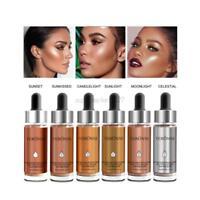 Liquid Highlighter Makeup Shimmer Cream Face Highlight illuminating Glow Bronzer