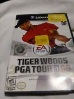 Tiger Woods PGA Tour 06 (Nintendo GameCube, 2005) ~ NO MANUAL Golf Video Game