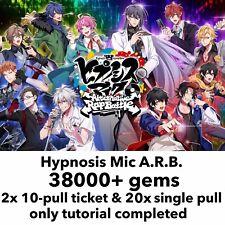 [JP] 38000+ Gems Hypmic A.R.B Hypnosis Microphone ARB Starter Account
