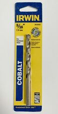 Irwin 516 Cobalt Drill Bit 3016020 Split Point Jobber Length Hardened Steel