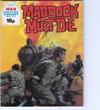 War Picture Library - MADDOCK MUST DIE - No 1729