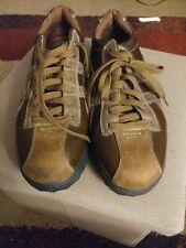 Skechers Shape Up Overha Brown Leather Toning Oxford Comfort Shoes 50877 Men 8.5