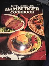 Betty Crocker's Hamburger Cookbook 1981 Ground Beef Recipes