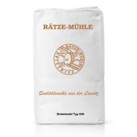 Bäckerei George |  Dinkelmehl Typ 630 Mehl in Bäckerqualität | 1 KG 5 KG 10 KG