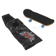Bearing Wheels & Wooden Fingerboard Maple Wood Finger Skateboard Kids Toys