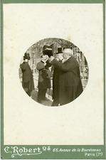 Albert Besnard  Vintage silver print,Albert Besnard, né le 2 juin 1849 à Paris