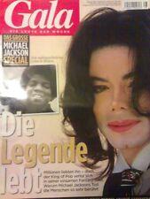 MICHAEL JACKSON - GALA MAGAZINE magazin mag マイケル·ジャクソン