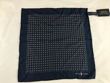 BNWT POLO RALPH LAUREN 100% Mulberry Silk Pocket Square. SAVE £30!!