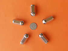 5 CHROME WHEEL NUTS SUIT FALCON XK - XP XR XT XW XY XA XB XC XD XE XF EA - FG