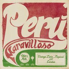 PERU MARAVILLOSO: VINTAGE LATI  VINYL LP NEW! ZULU/LOS ECOS/LOS ZHEROS/+