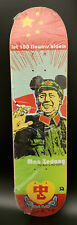 Frank Kozik SIGNED Chairman Mao Anarchy Skateboard Deck and Print AP LE 15 RARE