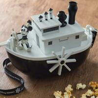 TDL Steamboat Willie Mickey Mouse Popcorn Bucket Figure Tokyo Disney Limited