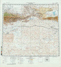Russian Soviet Military Topographic Maps – SHANSHAN (China), 1:500K, ed.1985