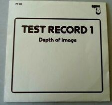 *1st Sound* Opus 3- Sweden: Test Record 1 (Depth Of Image)- Nm