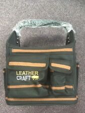 Leathercraft Outil Bags Electricians Tote Bag Leather Craft SUEDE & Nylon