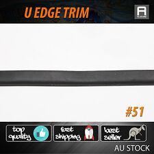 Edge Trim Seals Flexible Plastic Strip Automotive Boat Hatch Water Wind Break 5M