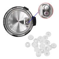 Set of 10 Electrical Power Pressure Cooker Valve Parts Float Sealer Seal Rings