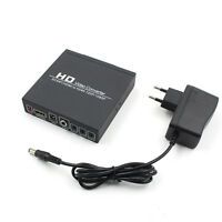 Scart/HDMI to HDMI adapter 720/1080P HD Video Converter Box for HDTV DVD EL PL