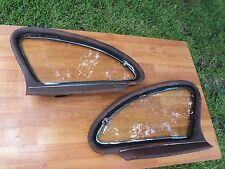 1941 1942 1946 1947 1948 GM CHEVROLET BUICK PONTIAC TORPEDO REAR WING WINDOWS