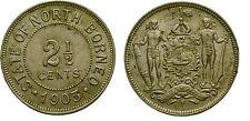 1903 British North Borneo 2.5 C-Natives-Nice