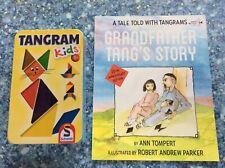 Schmidt Tangram KIDS 5+ avec grand-père TANG's Story Book by Ann tompert