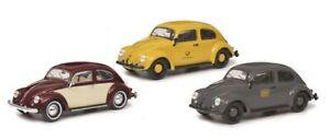 "Schuco 450774200 Edition 1:32 3er Set ""VW Käfer"" #NEU in OVP#"