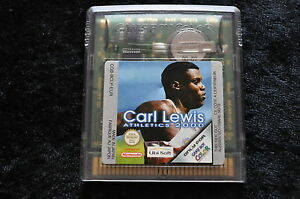 Carl Lewis Athletics 2000 Gameboy Color