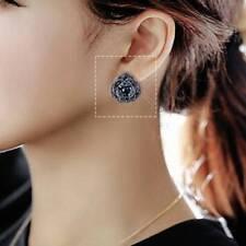 Korea Fashion Women's Earrings Temperament Korea Sweet Flash Rose Earrings